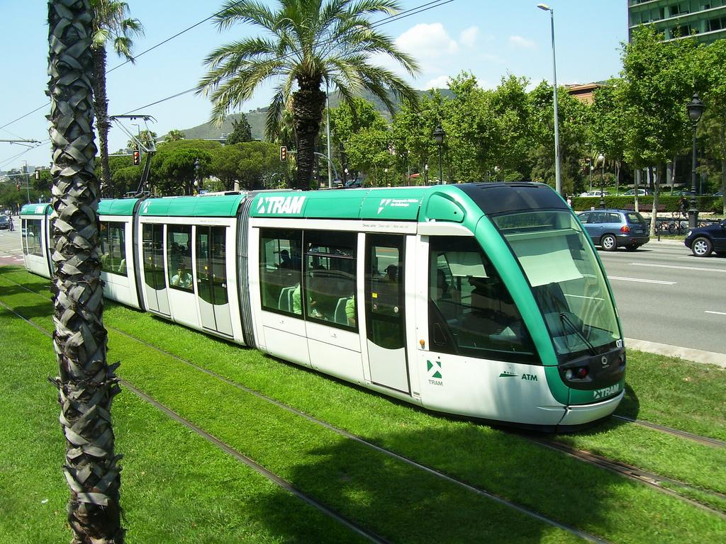 Барселона трамвай