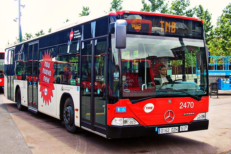 Барселона автобус