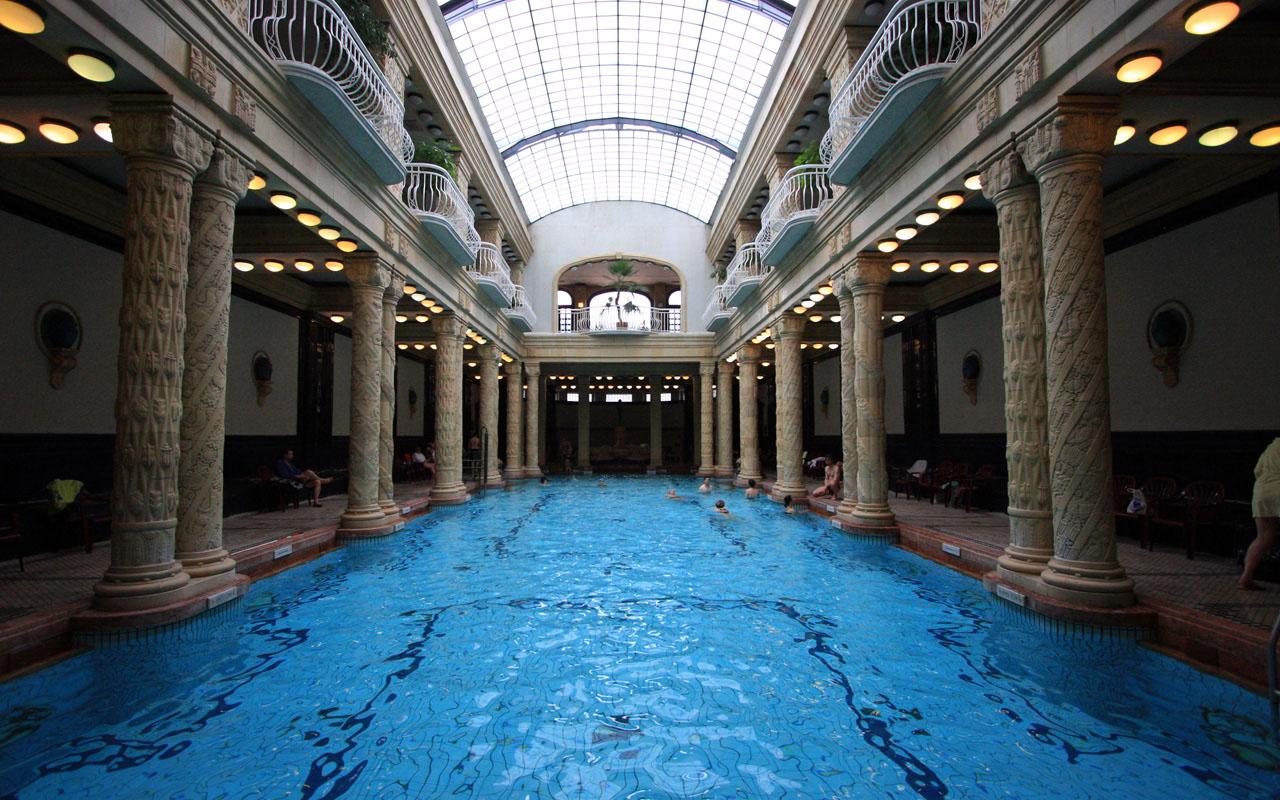 купальни будапешт