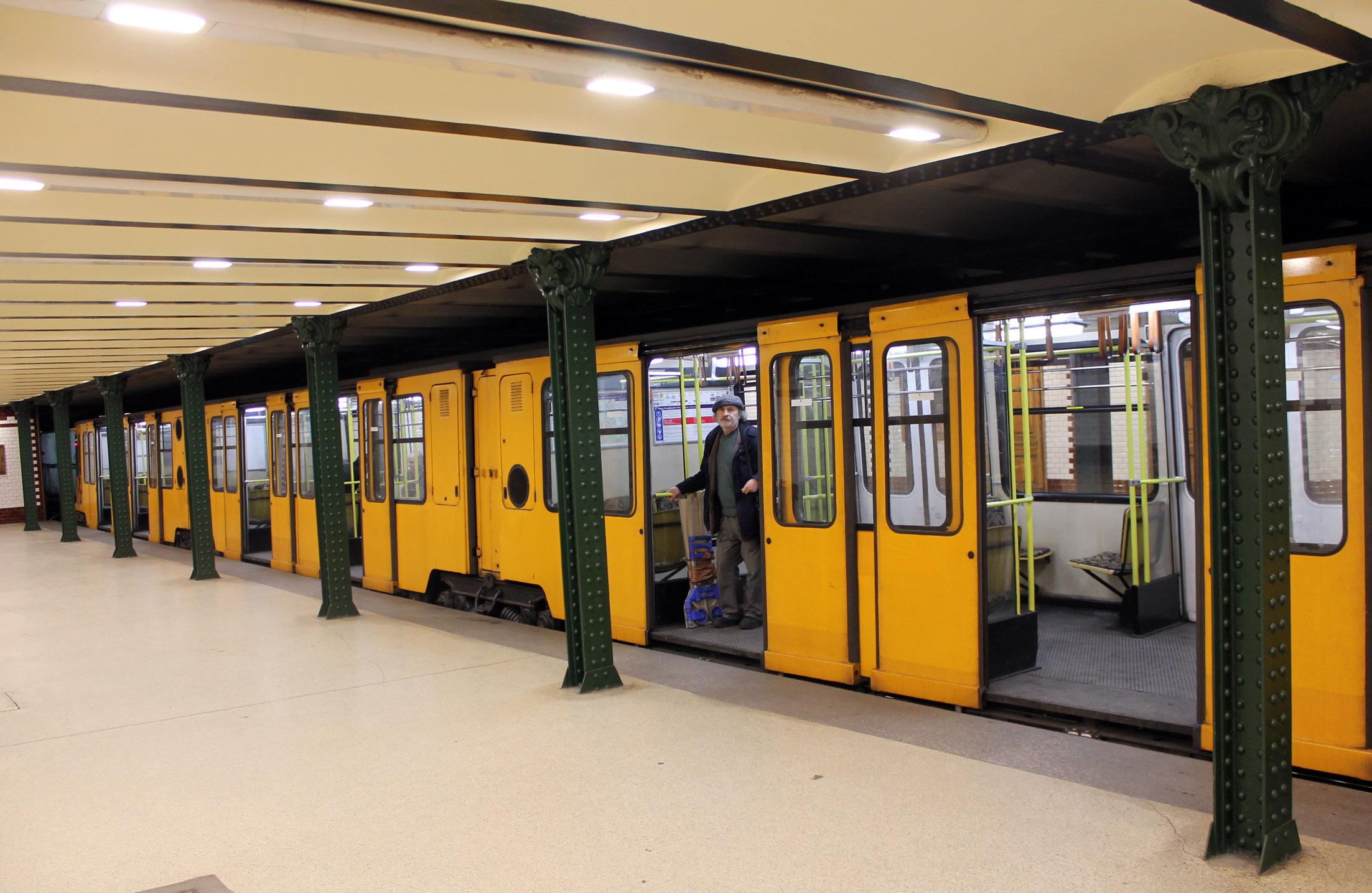 метро будапешта - самое старое в европе