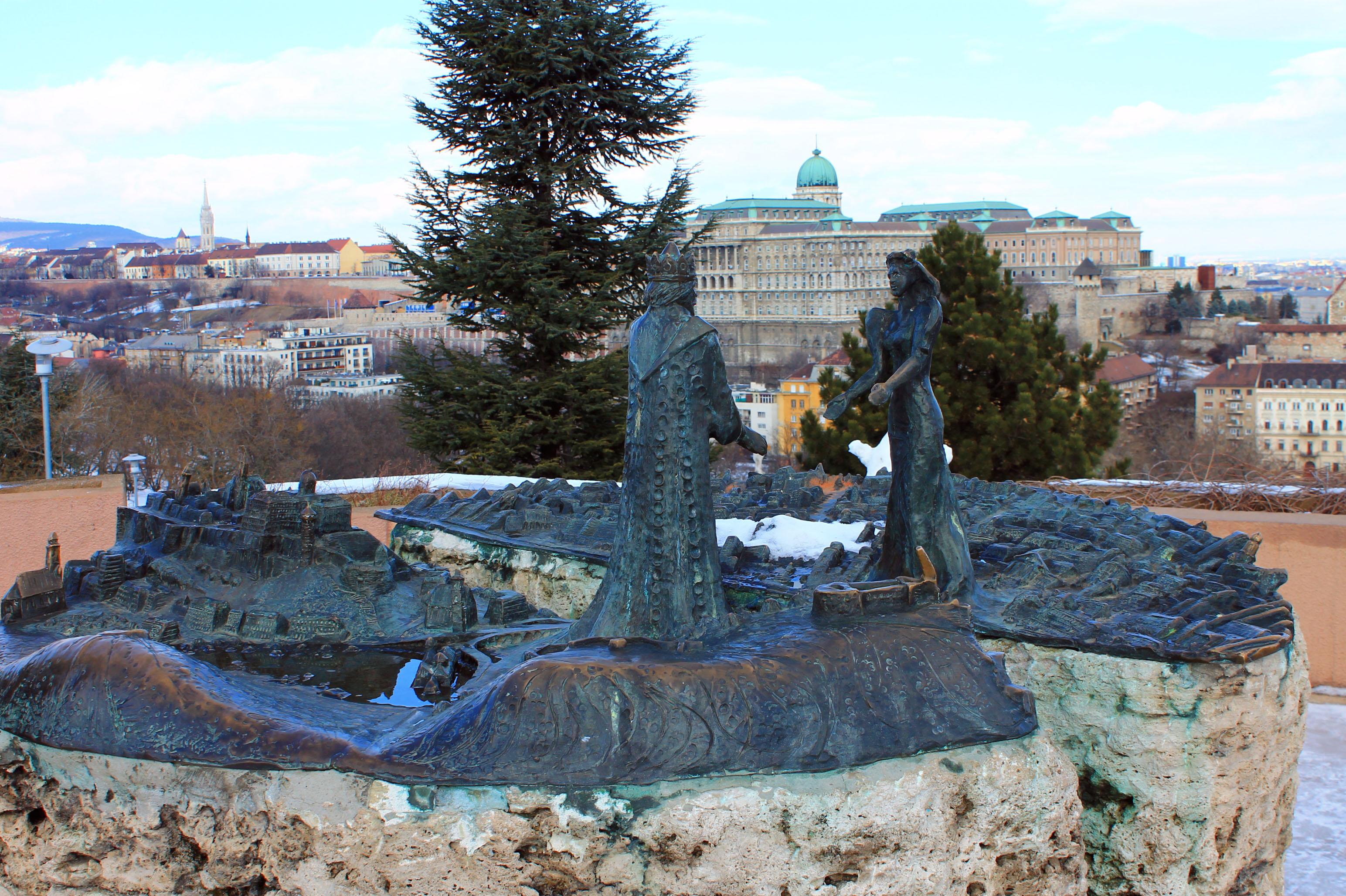 памятник на горе святого геллерта будапешт