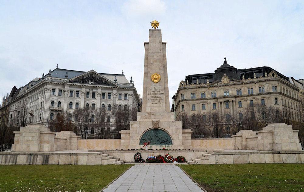 памятник советским солдатам будапешт