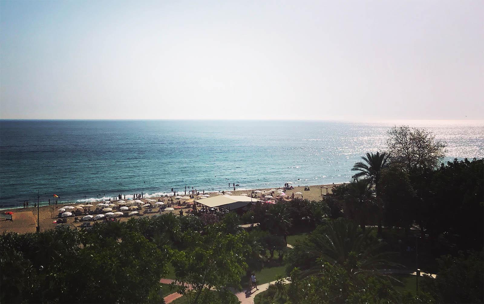 аланья пляж клеопатра
