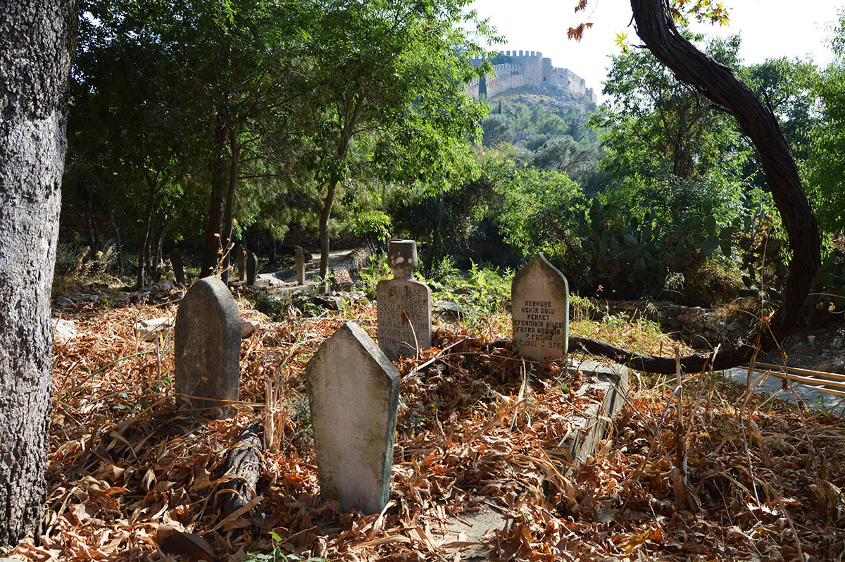 аланья крепость кладбище